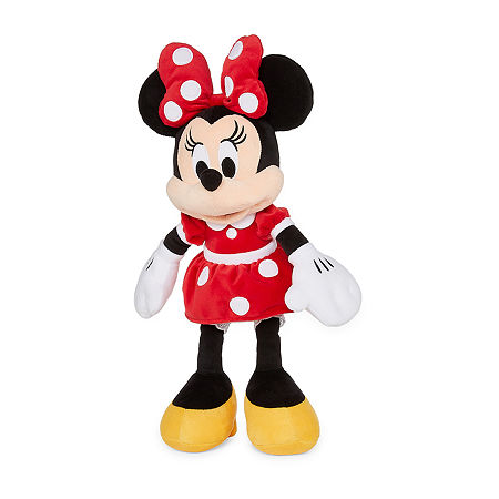 Disney Collection Red Minnie Mouse Medium Plush, One Size , Red Minnie