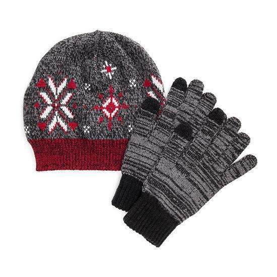 Muk Luks 3-pc. Knit Cold Weather Set