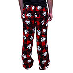Disney Collection Mens Plush Mickey Mouse Pajama Pants