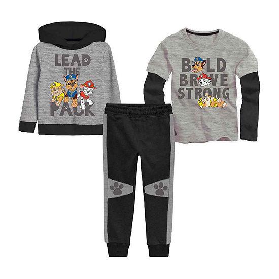 Nickelodeon Toddler Boys Paw Patrol 3-pc. Pant Set