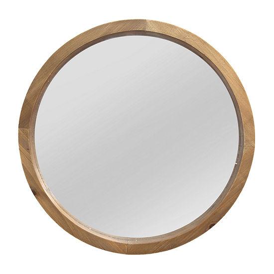 Stratton Home Decor Maddie Wood Wall Mirror