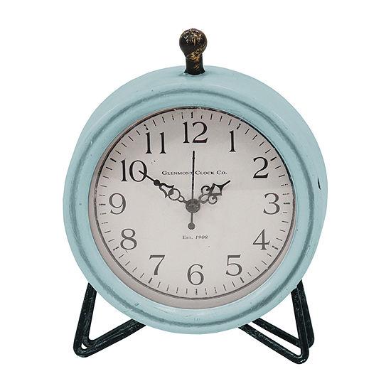 Stratton Home Decor Dixie Table Clock Wall Clock