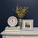 Stratton Home Daisy Table Clock -S16072