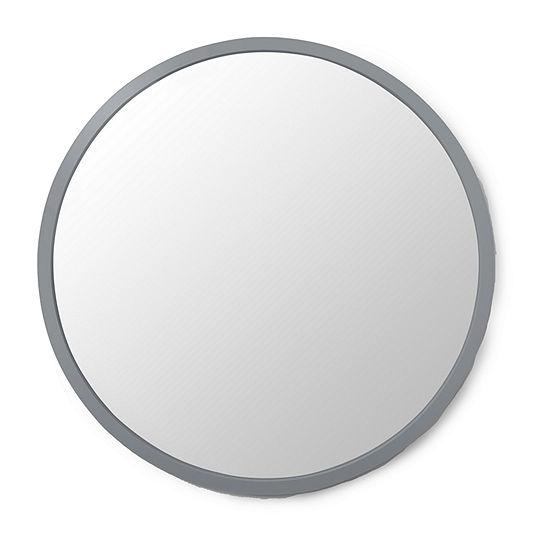 Umbra Hub Mirror 24 Spruce Wall Mount Round Mirror Set