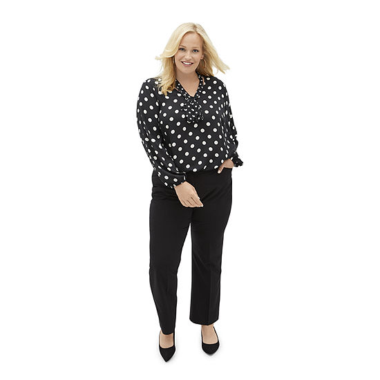 Fall For You: Worthington Bow Blouse & Perfect Trouser