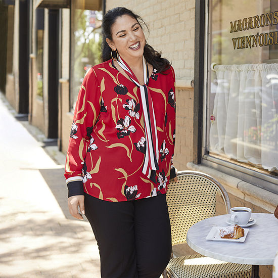 Love Liz: Liz Claiborne Blouse and Sophie Pant