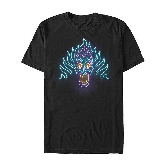 Hercules Neon Hades Mens Crew Neck Short Sleeve Graphic T-Shirt