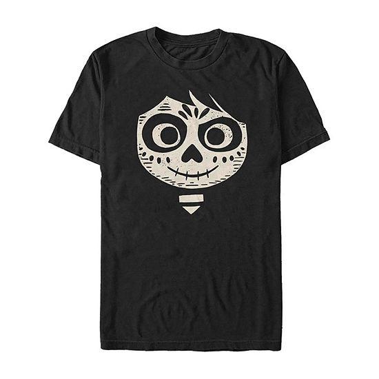 Slim Coco Miguel Big Face Costume Mens Crew Neck Short Sleeve Graphic T-Shirt