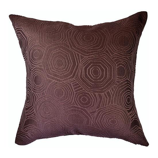 Vesper Lane Tiles Matelasse Square Throw Pillow