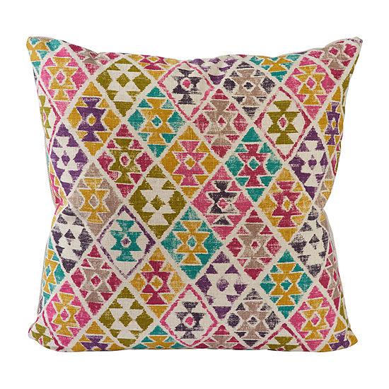 Vesper Lane Aztec Square Throw Pillow