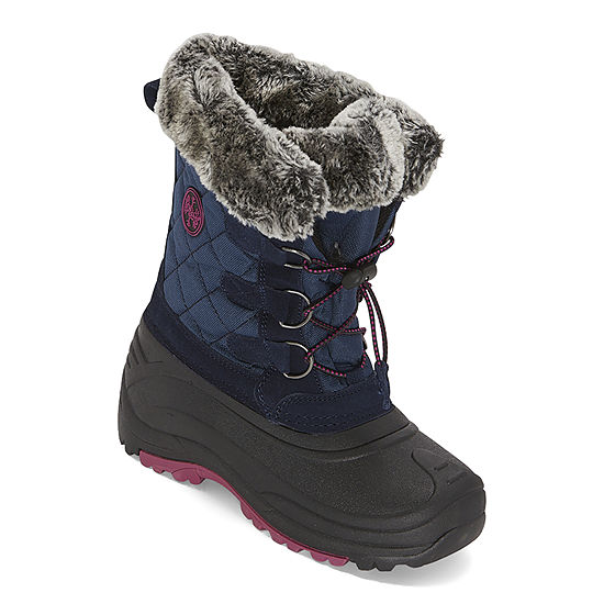 Totes Little Kid/Big Kid Girls Jenna Ii Flat Heel Winter Boots