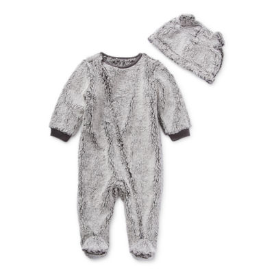 North Pole Trading Co. It's Cold Outside Unisex Long Sleeve Knit Footed Pajamas