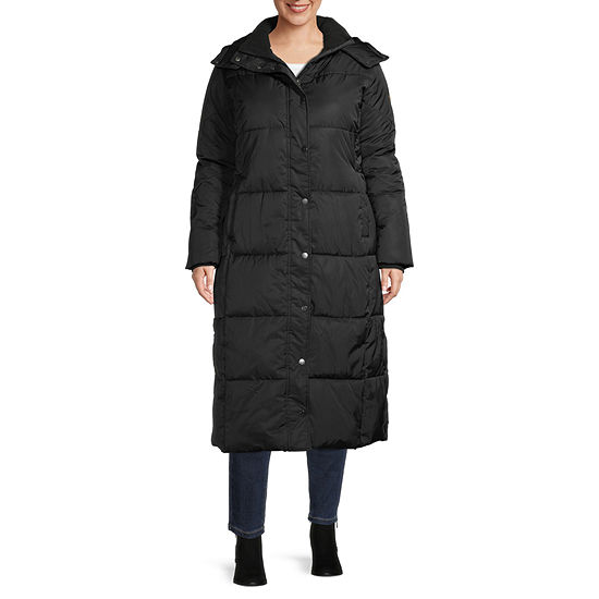 St. John's Bay Heavyweight Puffer Jacket-Plus