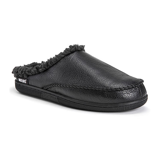MUK LUKS® Faux Leather Clog Slippers