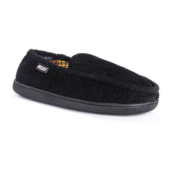 MUK LUKS® Corduroy Moccasin Slippers
