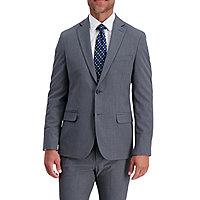 Haggar Mens Pinstripe Tailored Coat