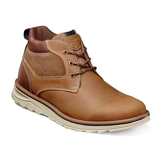 Nunn Bush Mens Luxor Chukka  Flat Heel Boots