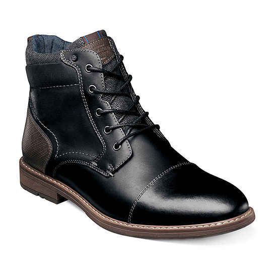 Nunn Bush Mens Fuse Chukka Flat Heel Boots