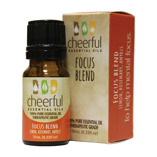 A Cheerful Giver Set Of 2 Focus Blend Essential Oil