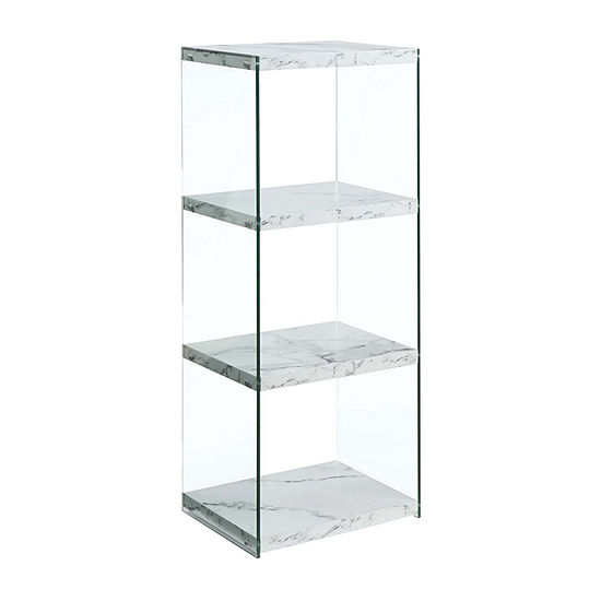 Convenience Concepts Soho 4-Tier Tower Bookcase