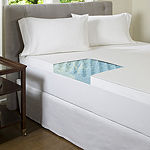 "Comforpedic from Beautyrest® Big Wave 3"" Gel Memory Foam Mattress Topper with Cover"