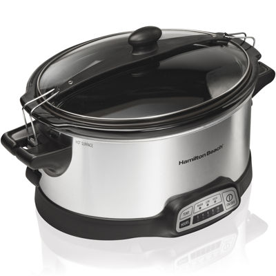 Hamilton Beach® Stay or Go® 6-qt. Programmable Slow Cooker