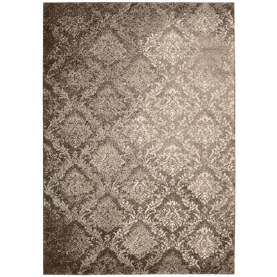 Kathy Ireland® Royal Shimmer Wool Shag Rectangular Rug