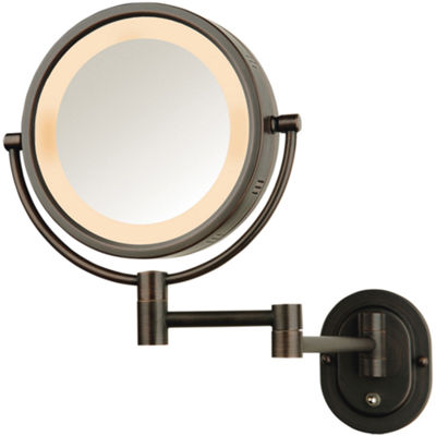 Jerdon Style Lighted Wall Mount Mirror Jcpenney