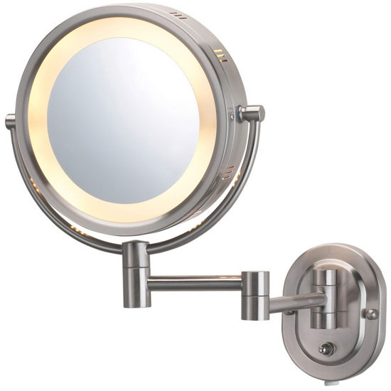 Jerdon Style Lighted Wall-Mount Mirror
