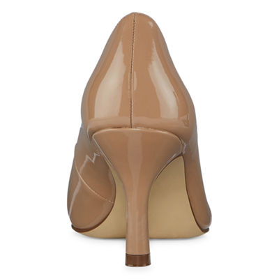 east 5th Womens Debbie Pumps Pull-on Pointed Toe Spike Heel