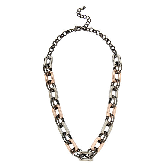 Worthington 13 Inch Link Link Necklace