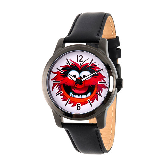Disney The Muppets Mens Black Strap Watch Wds000350