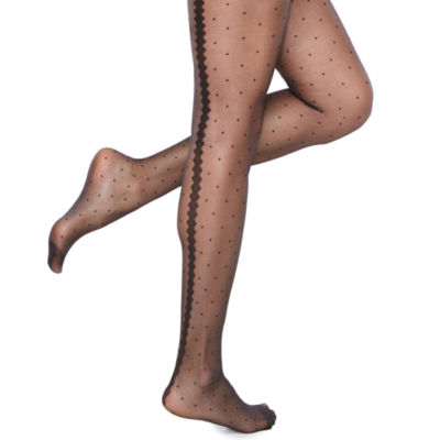 Mixit 1 Pair Sheer Dot Tights