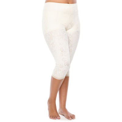 Cortland Intimates Plus Printed Pantliner Firm Control Thigh Slimmers - 7611