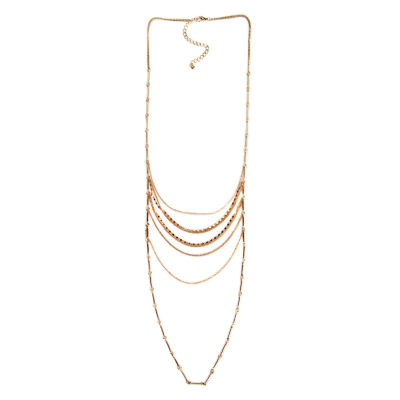 Arizona Womens 34 Inch Link Necklace