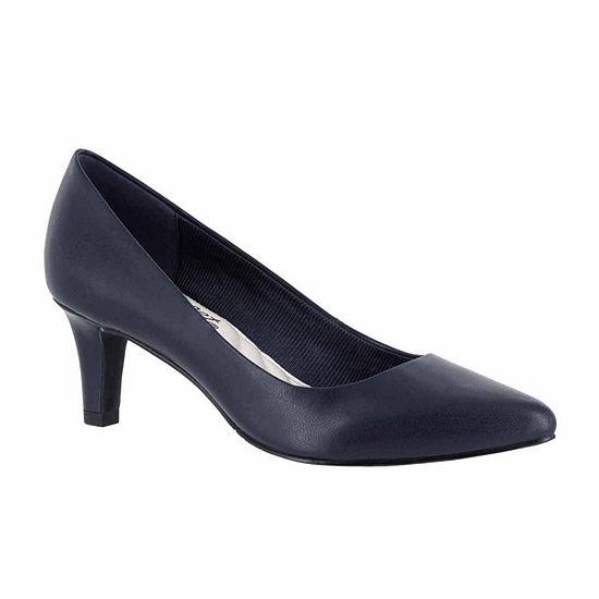 Easy Street Womens Pointe Pumps Spike Heel