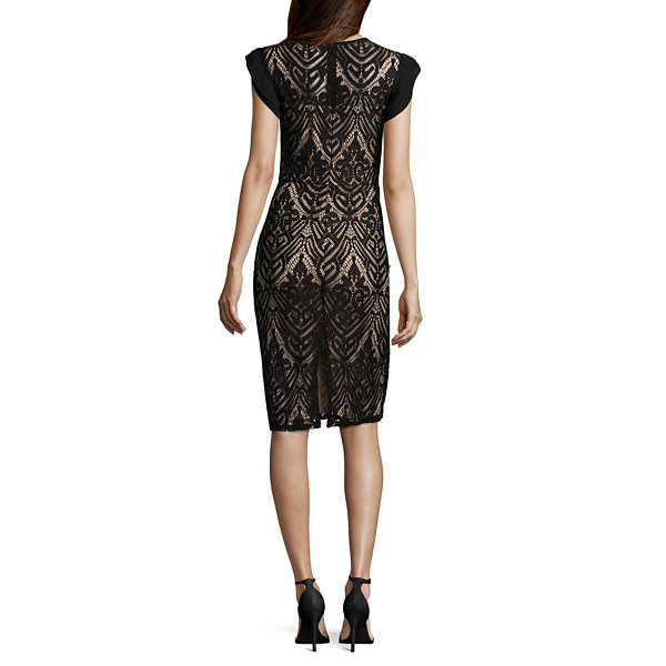 Luxology Sleeveless Sheath Dress