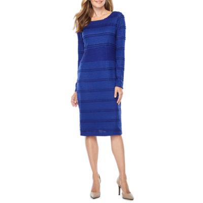 Melrose Long Sleeve Lace Sheath Dress