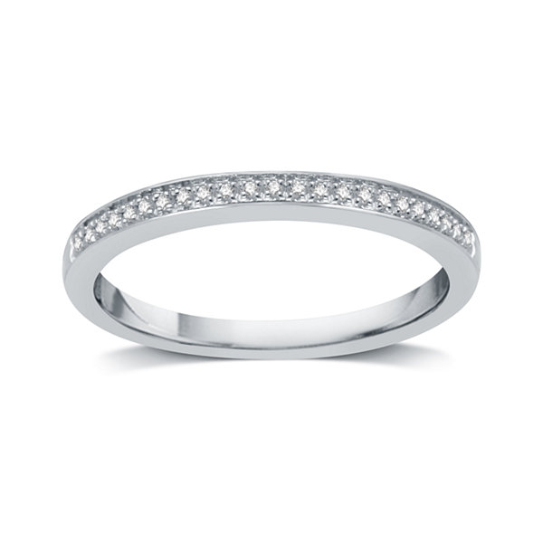 Jcpenney Gift Registry Wedding: I Said Yes Womens Genuine Diamond Accent Platinaire