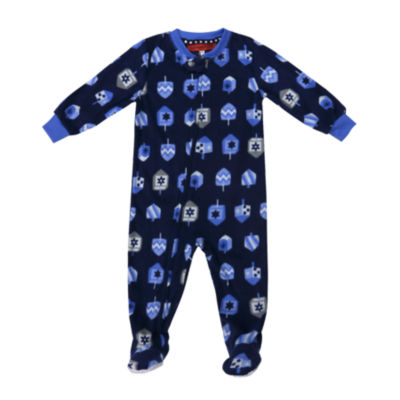 #Famjams Hanukkah Family One Piece Pajamas-Baby