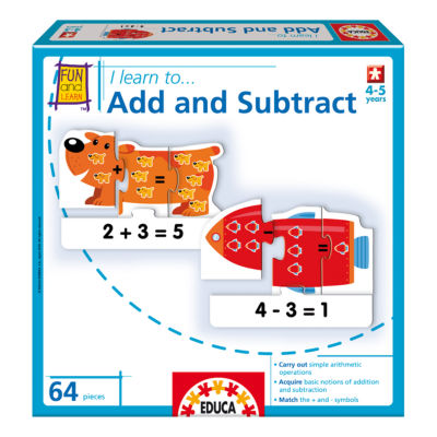 Educa I Learn To... Add and Subtract