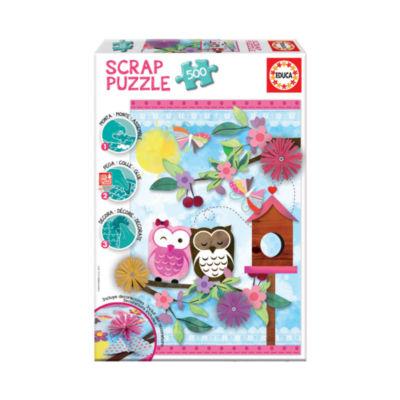 Educa Scrap Puzzle - Valentine Art: 500 Pcs