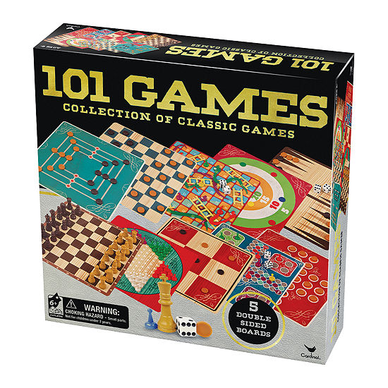 Cardinal 101 Games - Collection of Classic Games