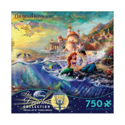 Ceaco Thomas Kinkade Disney Dreams - The Little Mermaid: 750 Pcs