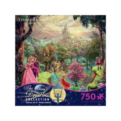 Ceaco Thomas Kinkade Disney Dreams - Sleeping Beauty: 750 Pcs