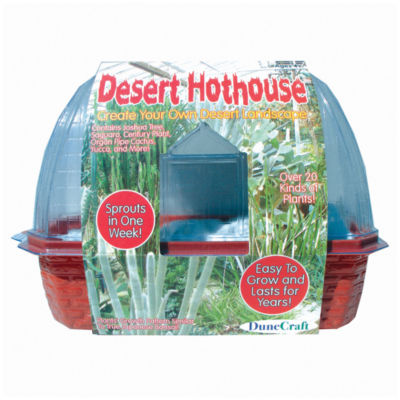 Dunecraft Desert Hothouse Windowsill Greenhouse