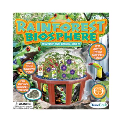 DuneCraft Dome Terrarium - Rainforest Biosphere