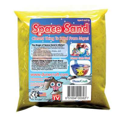 Dunecraft Space Sand 1 lb Yellow