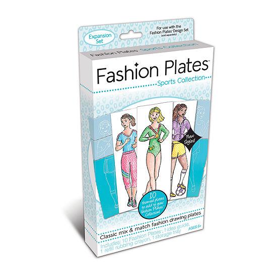 Fashion Plates Sports Collection Expansion Set