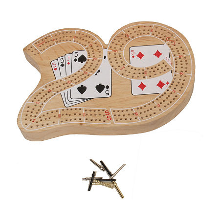 John N. Hansen Co. Cribbage - Large 29, One Size , Multiple Colors